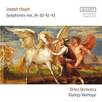 Haydn: Symphonies Nos. 24, 30, 42 & 43