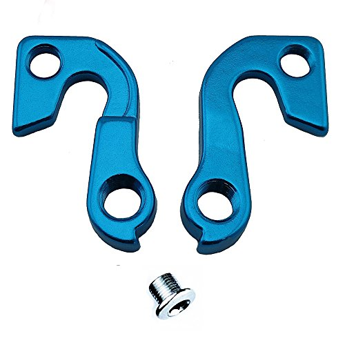 Noah And Theo NT-HD057 Mech Gear Derailleur Hanger Dropout compatible with GT Hanger MHGT62 in SATIN BLUE incl. screw set.