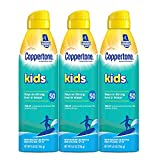 Coppertone KIDS Sunscreen Continuous Spray SPF 50 (5.5 Ounce, Pack of...