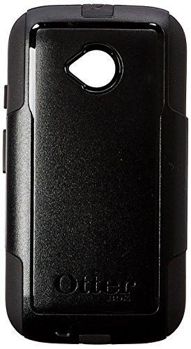 Otter Products Commuter Case for Moto E 2nd Gen/4G LTE - Retail Packaging - Black (Black/Black)