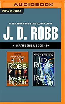 MP3 CD J. D. Robb - In Death Series: Books 3-4: Immortal in Death, Rapture in Death Book
