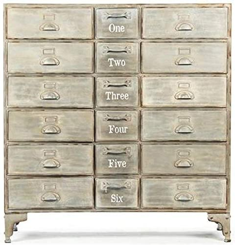 EuroLux Home Oscar Max 56% OFF Chest of Drawers 18 Brass Super popular specialty store Bronze Metal -Drawe
