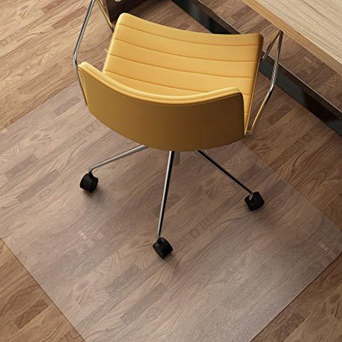 Vinyl vloerbeschermer, transparant rechthoekig bureaustoel mat geen BPA geen krullen voor hardhout vloertegel tapijt