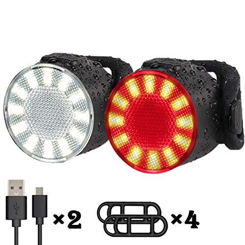 Rücklich //Neu USB-Ladekabel MTB Mountain Bike Outdoor Fahrrad LED Scheinwerfer