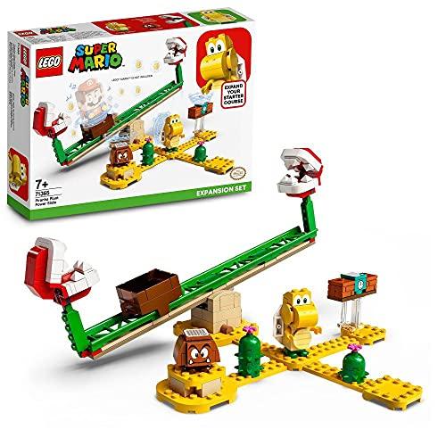 LEGO71365SuperMarioPiranha-Pflanze-Powerwippe–Erweiterungsset, Bauspiel