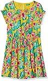 United Colors of Benetton Dress Vestido, Amarillo (Giallo/Allover 6q0), Talla única (Talla del Fabricante: 1Y) para Niñas