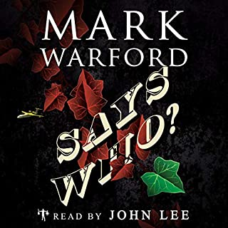 Says Who? audiobook cover art