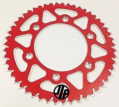Corona Alu rojo 51dientes Kit cadena para Honda 125Cr 150250450500CR CRF JLP Racing esjot