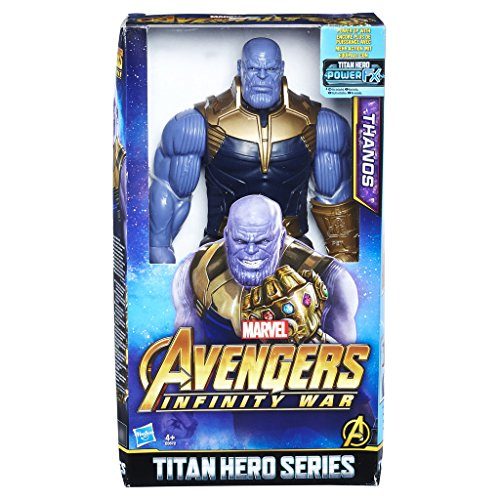 Hasbro Avengers E0572EU4 Titan Hero Power FX Thanos, Actionfigur