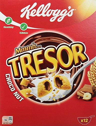 Kellogg´s Tresor Choco Nut,   12 Stk  x 375g