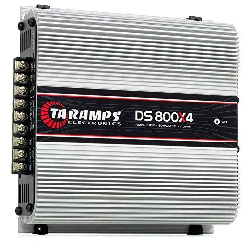 TARAMPS - Amplificador de Audio Estéreo de Alta Potencia para Coche, Cuatro Canales, Estable a un Ohm