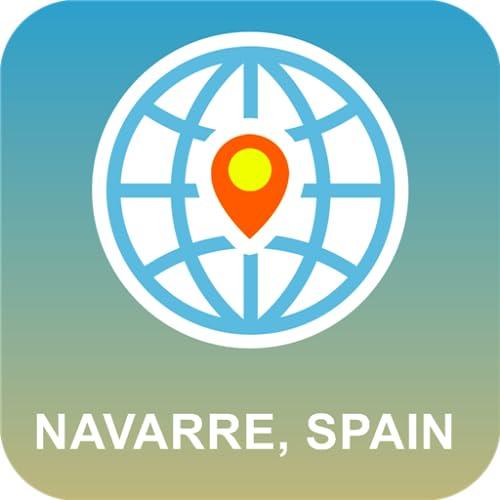 Navarra, España Mapa