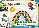 Lena Mosaik Set transparent 15 mm 120 pcs - Kits de mosaico (3 año(s), Niño/niña, Preescolar, Multicolor, 120 pieza(s), Europa) , color/modelo surtido
