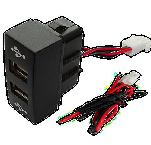 AERZETIX: Prise Module Double USB 5V Chargeur pour Tableau de Bord C17000