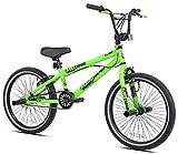Kent Bicycles Madd Gear 20' Freestyle BMX Boy's Bike, Green