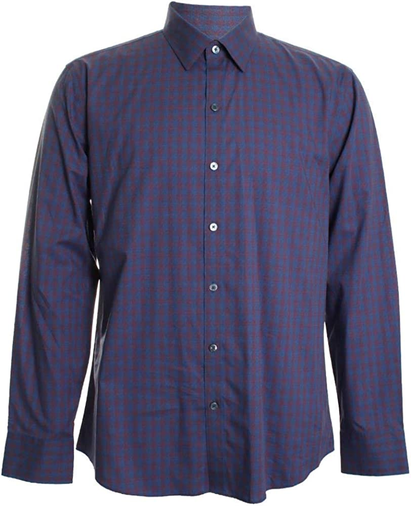 Zachary Denver Mall Prell Middler Plaid Button Discount mail order Front Shirt