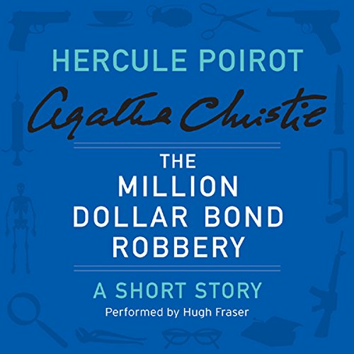 The Million Dollar Bond Robbery audiobook cover art
