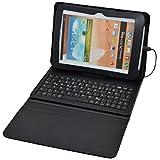 Universal Tablet-Hülle, Schutztasche mit QWERTZ-Tastatur & Standfunktion für 7 bis 8 Zoll Tablets