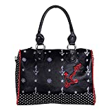 Banned Schultertasche ANCHORS BAG black