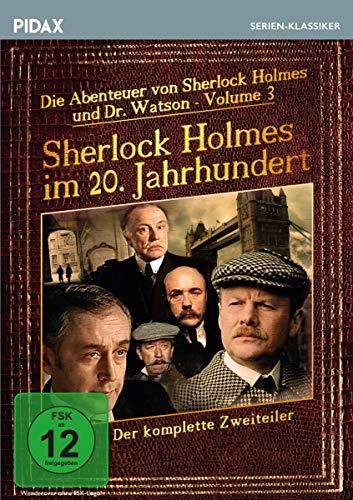 Sherlock Holmes im 20. Jahrhundert / Der komplette Zweiteiler (Pidax Serien-Klassiker)