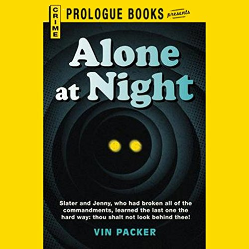 Alone at Night audiobook cover art