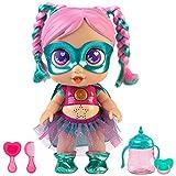 Super Cute - Super Cute Muñeca Superheroína Gabi con biberón mágico, ropa...