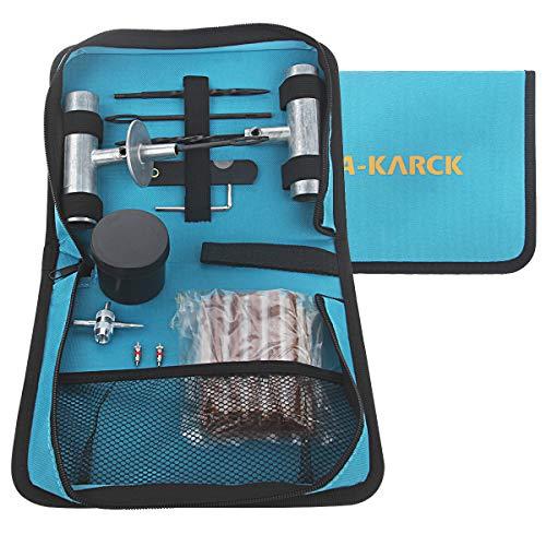 A-KARCK Tire Repair Kit, Tubeless Tire Repair Plug Tools 34PCS, Puncture Repair Kit for Car SUV RV...