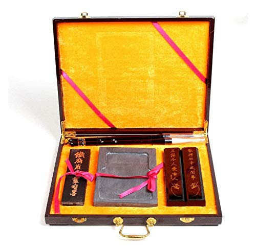 Pincel de escritura, cepillo de escritura chino, pincel de tinta de agua, pluma de caligrafía + bolígrafo de lana, para dar regalos/optimizar el temperamento