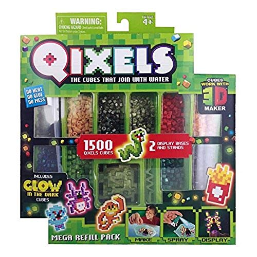 Asmokids Mega Glow Qixels 1500 Refills Arts and Crafts – Boys