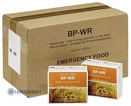 Compact - BP WR Emergency Food 24 x 500 Gramm Langzeitnahrung für Outdoor, Camping und in Krisensituationen
