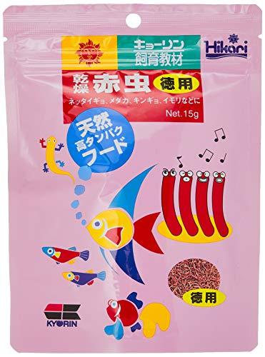 Hikari 乾燥赤虫 徳用 15gamazon参照画像