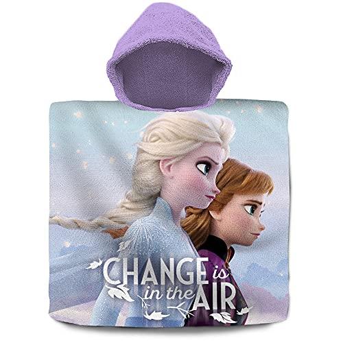 Poncho Toalla algodón de Frozen 2