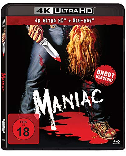 Maniac - Uncut Version (4K Ultra HD) (+ Blu-ray 2D)