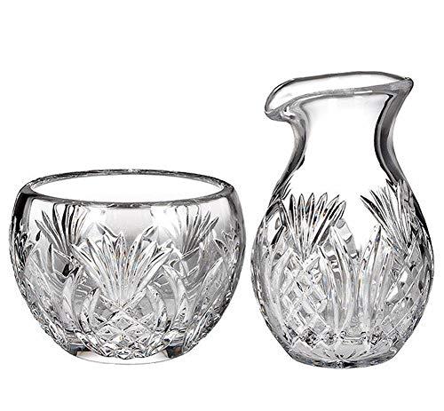 Waterford Crystal Gifts: Pineapple Sugar & Creamer