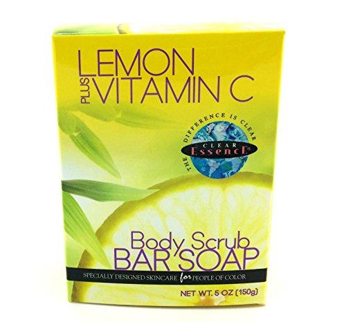 Clear Essence Lemon Plus Savon corporel à la vitamine C