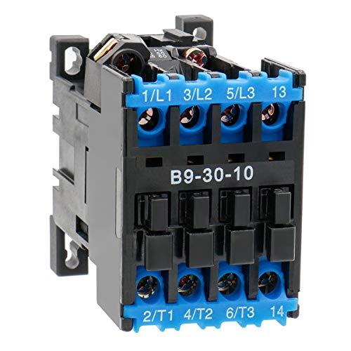 heschen Aufzug AC leistungsschütze B9–30–10220V 50Hz 3Pole 3NO 5,5kW 35mm DIN Rail Mount