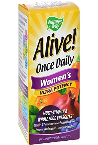 Nature's Way Alive Once A Day Women's Ultra Potency 60 Tablets