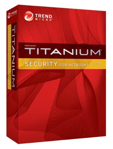 Trend Micro Titanium Security for Netbooks 2011 (1 User, 1 Jahr, Mini Retail Box)