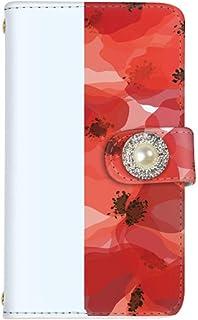 rafre/DIGNO W KYV40 手帳型 ケース カード スマホケース 携帯ケース 携帯カバー スマホカバー KYOCERA 京セラ ラフレ/ディグノ ダブル au SIMフリー vc-214-deco 花 フラワー 花柄