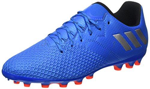 adidas Messi 16.3 AG J, Botas de fútbol para Niños, Azul (Azuimp/Plamat/Negbas), 38 2/3 EU