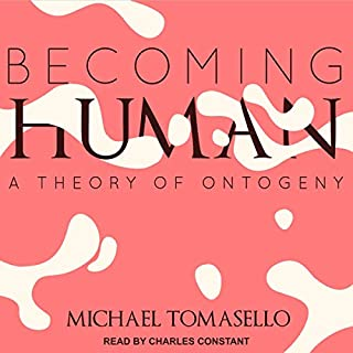 Becoming Human audiobook cover art