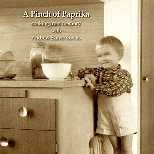 A Pinch of Paprika audiobook cover art