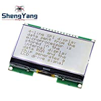 1pcs Lcd12864 12864-06D, 12864, LCD module, COG, with Chinese font, dot matrix screen, SPI interface