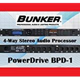BUNKER PowerDrive BPD-1 Audio Processor 2 x 8 ラウドスピーカー マネジメントシステム ◆並行輸入品◆