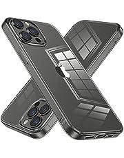 NIMASO ケース iPhone13promax 用 保護 カバー クリア tpu バンパー 強化ガラス ケース 軽量 衝撃吸収 NSC21H296
