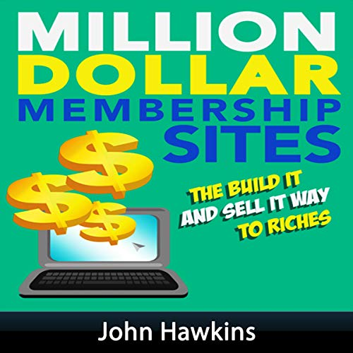 Million Dollar Membership Site Titelbild