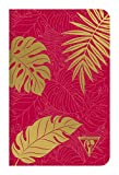 Carnet rouge garance 11x17 96 p ligné 194306C