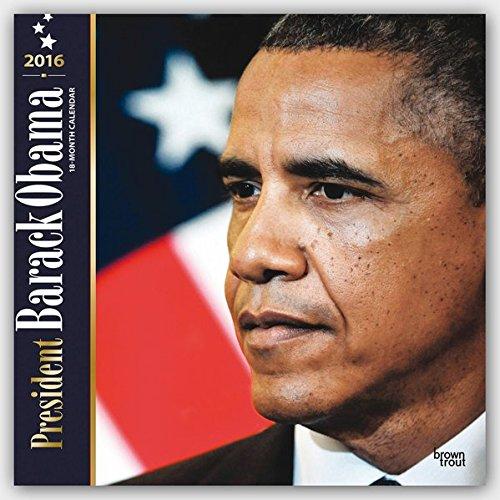 President Barack Obama 2016 Square 12x12