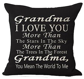 i love you grandma