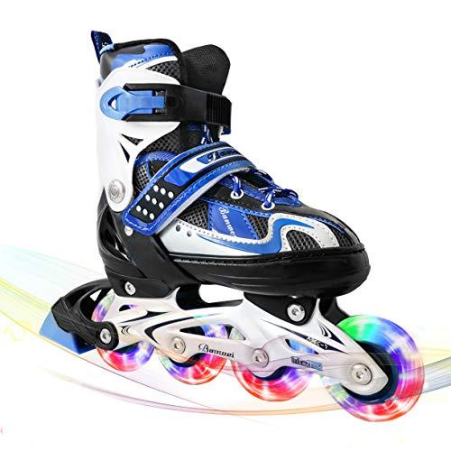 MammyGol Adjustable Inline Skates for Kids,Roller...